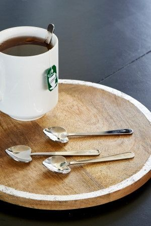 Riviera Maison With Love Heart Spoons 4 pcs
