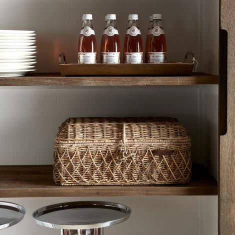 Riviera Maison RR Diamond Weave Bread Basket