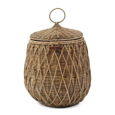 Riviera Maison RR Diamond Weave Storage Basket