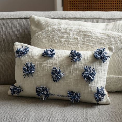 Riviera Maison Beach Club Pompom Pillow Cover