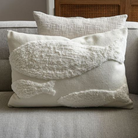 Riviera Maison Fancy Fish Pillow Cover