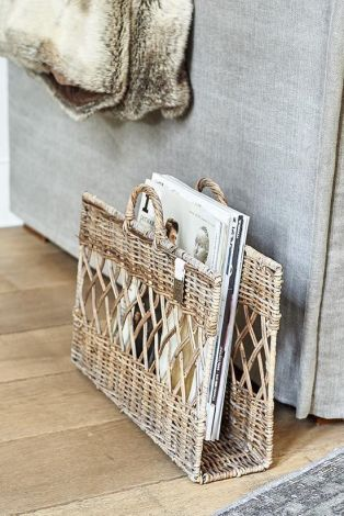 Riviera Maison Newspaper Basket
