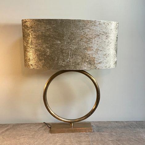 Lampenvoet Brons Ringlamp L