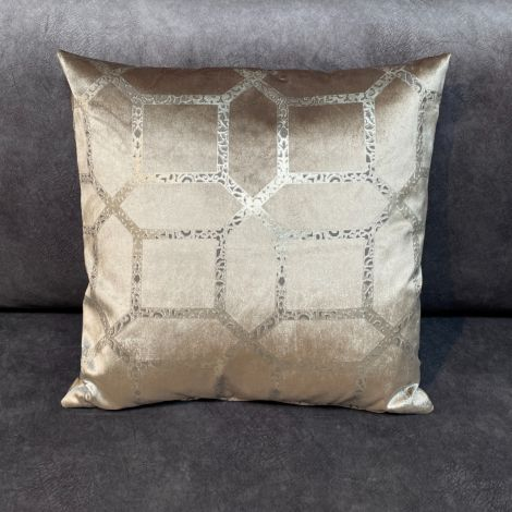 Kussen Champagne Luxe print