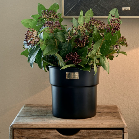 Riviera Maison City Loft Flower Pot black S