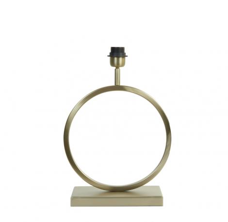 Lampenvoet Champagne Ringlamp 30cm