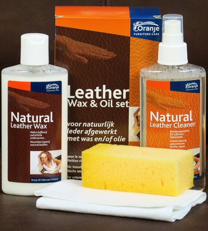 Leather Wax en Oil set
