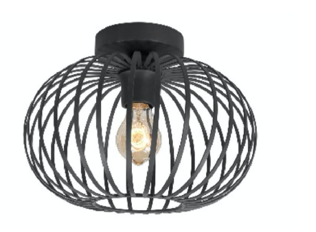 Plafondlamp Stoer Zwart