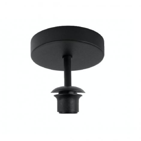 Plafondsteun voor lampenkap zwart