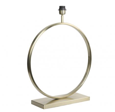 Lampenvoet CHampagne Ringlamp 50cm