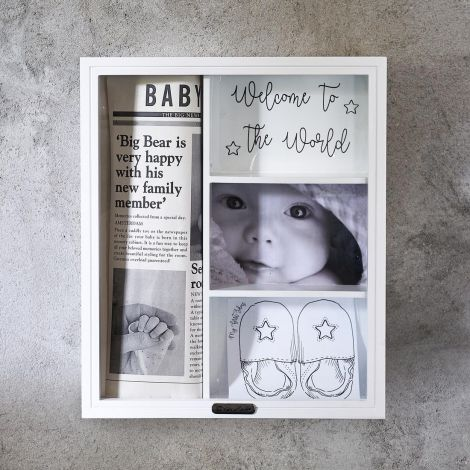 Rivièra Maison Welcome To The World Memory Cabinet