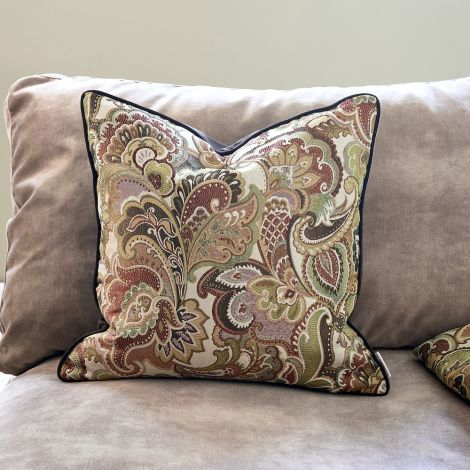 Riviera Maison Nomade Paisley Pillow Cover 50x50