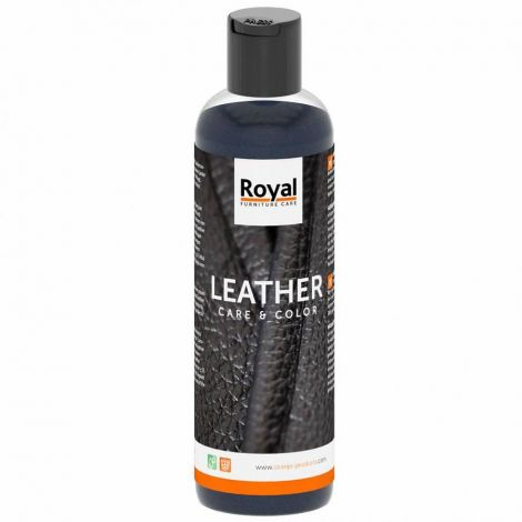 Leather Care&Color zwart