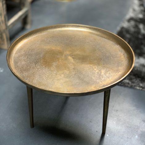 Salontafel Goud Aluminium