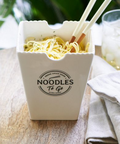 Riviera Maison Fresh Asian Food Noodles To Go Bowl