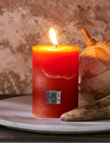 Riviera Maison Rustic Candle pumpkin 7 x 10