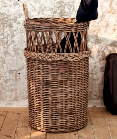 Riviera Maison Rustic Rattan Umbrella Country Basket