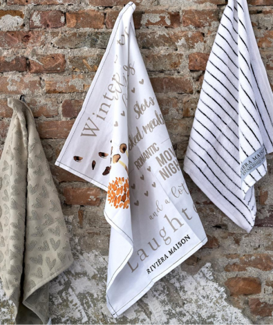 Riviera Maison Winter Is For...Tea Towel