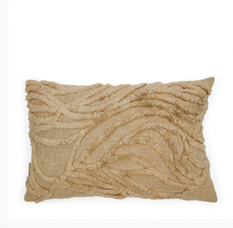 Riviera Maison Desert Wave Pillow Cover natural